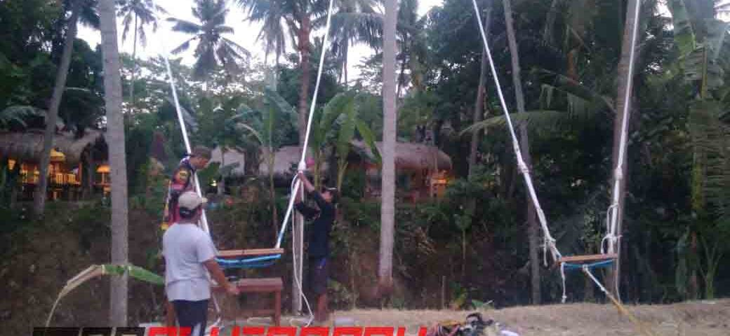 082131472027, Wahana Outbound Bali, Wahana Outbound Bandung, Wahana Terbaru Swing Highrope di Bali (2)