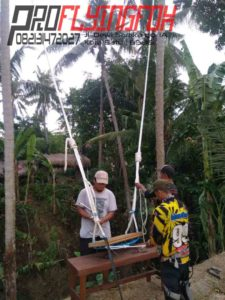 082131472027, Wahana Outbound Jawa Bali, Wahana Outbound Bandung, Wahana Terbaru Swing Highrope di Bali (3)
