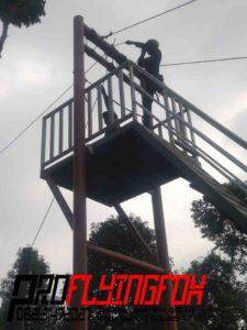 082131472027, Pembuatan Wahana Outbound Jawa Timur, Pembuatan Wahana Outbound Kediri, Flyingfox di Bukit Gandrung Medowo Kandangan Kab. Kediri (3)