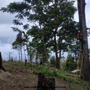 082131472027, Wahana Outbound Karawang, Wahana Outbound Bekasi, Pemasangan Wahana Outbound di Gunung Gamalama (4)